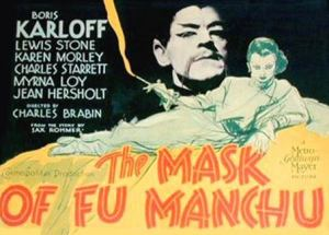 Mask of Fu Manchu poster